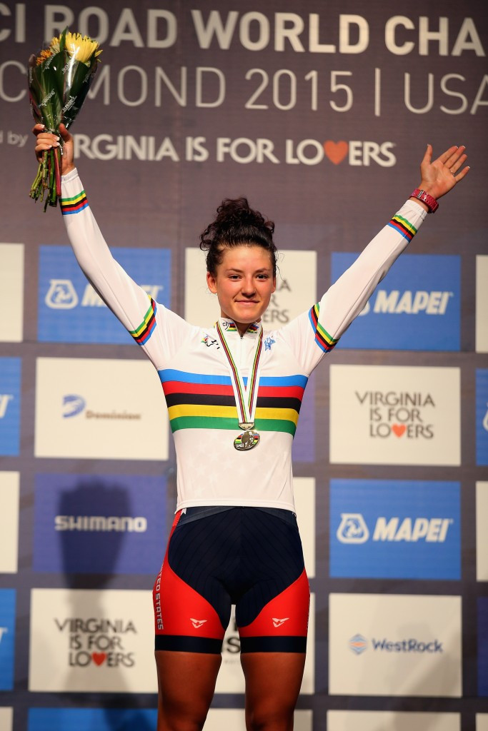 Dygert completes rare double at World Road Cycling Championships