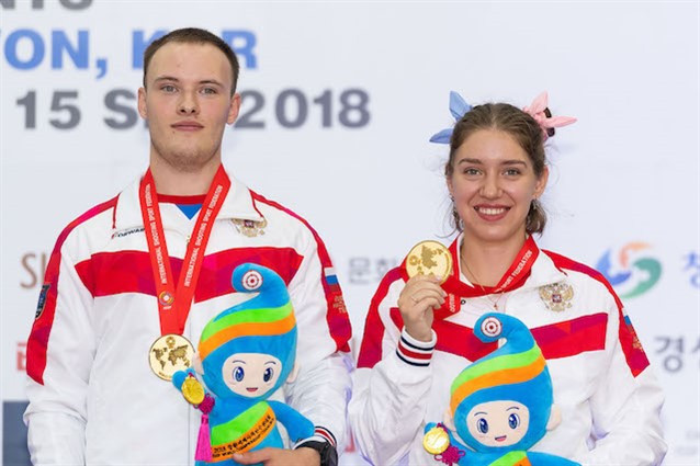 Russia and China win first gold medals and Tokyo 2020 quota places at ISSF World Championships