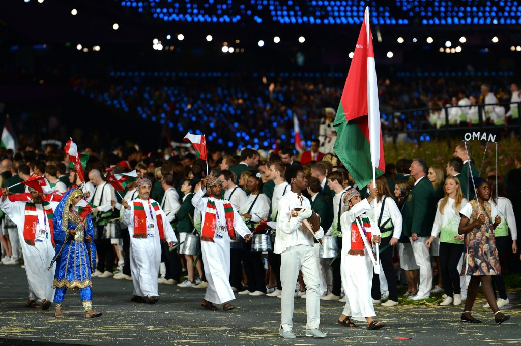 Oman has never won an Olympic medal but is hoping to improve their performances at Rio 2016 and beyond ©Getty Images