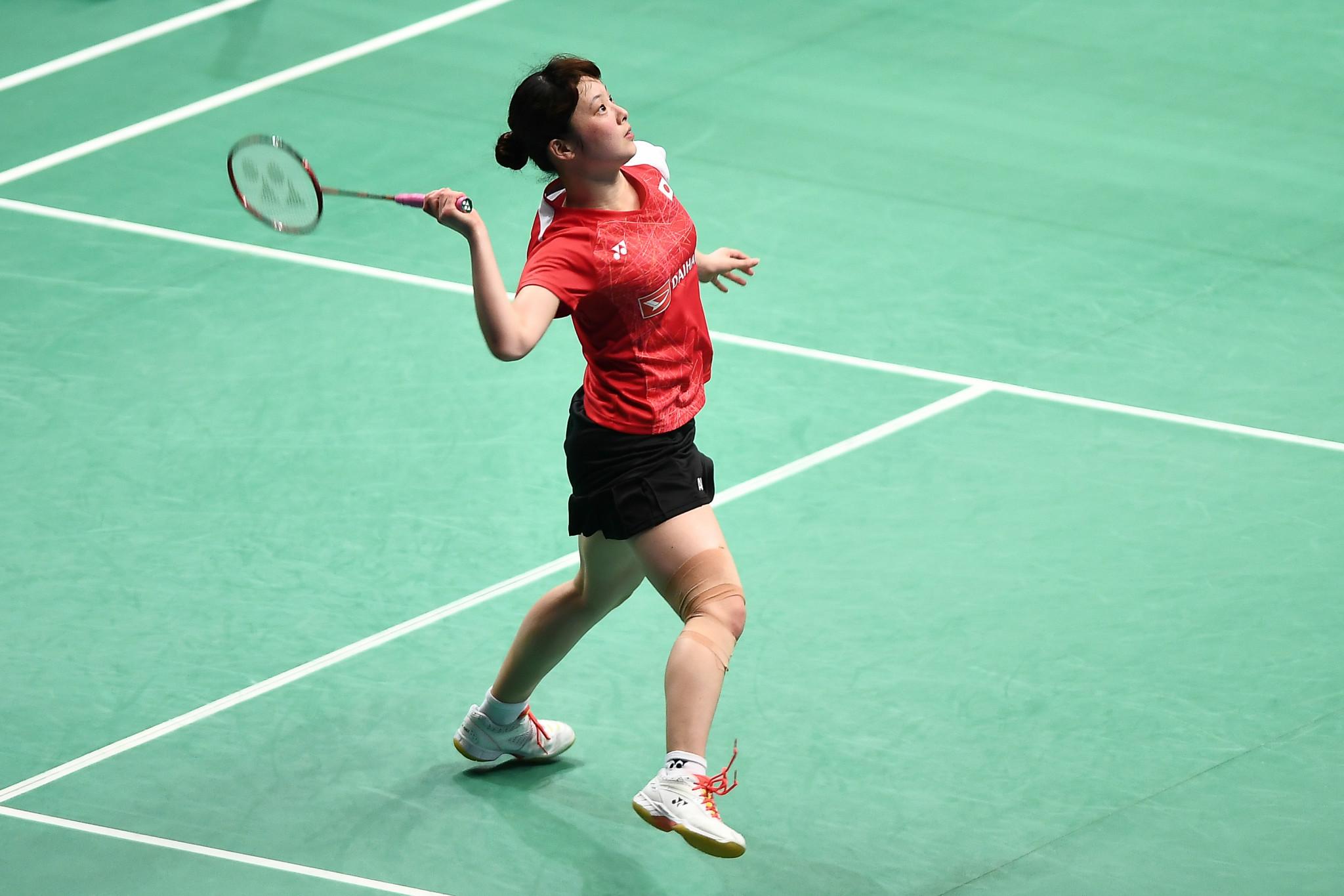 Minatsu Mitani won the women's singles title in Barcelona ©Getty Images