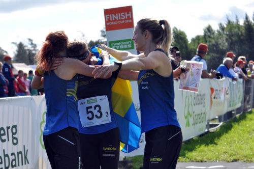 Alexandersson leads Sweden to relay triumph at Orienteering World Cup