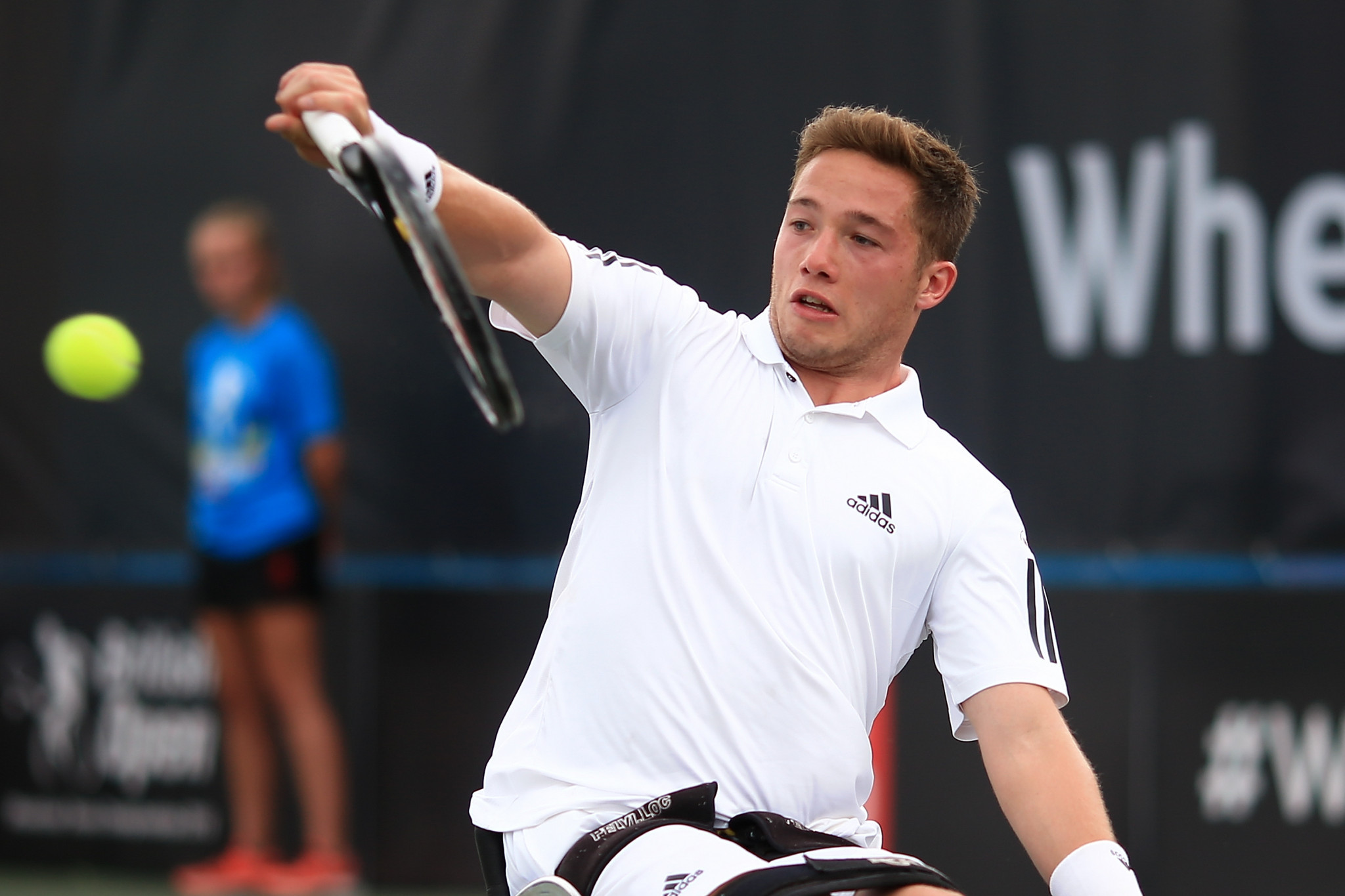 Britain's Alfie Hewett warmed up for the US Open by winning the men's singles title at the USTA Championships in St Louis ©Getty Images