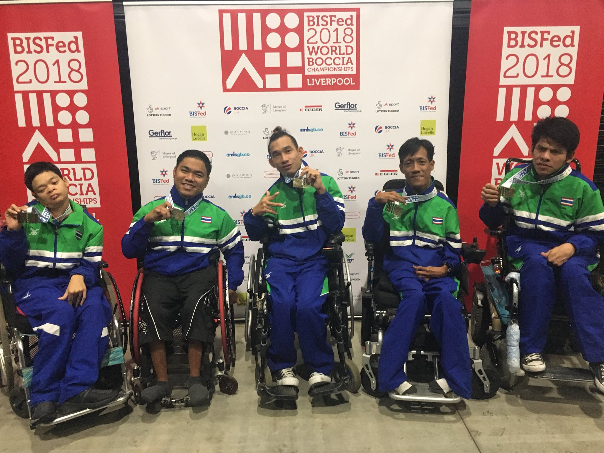 Boccia rankings released after 2018 World Championships