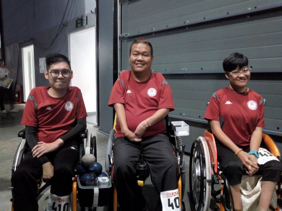 Hong Kong's BC4 pairs team defeated Germany 7-1 to claim the bronze medal and now move up to second in the world rankings ©2018 World Boccia/Twitter