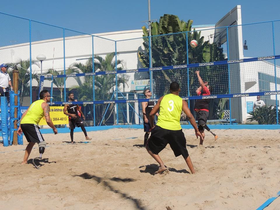 "Couzner says beach volleyball is ""on the move"" towards Los Angeles 2028 Paralympics"