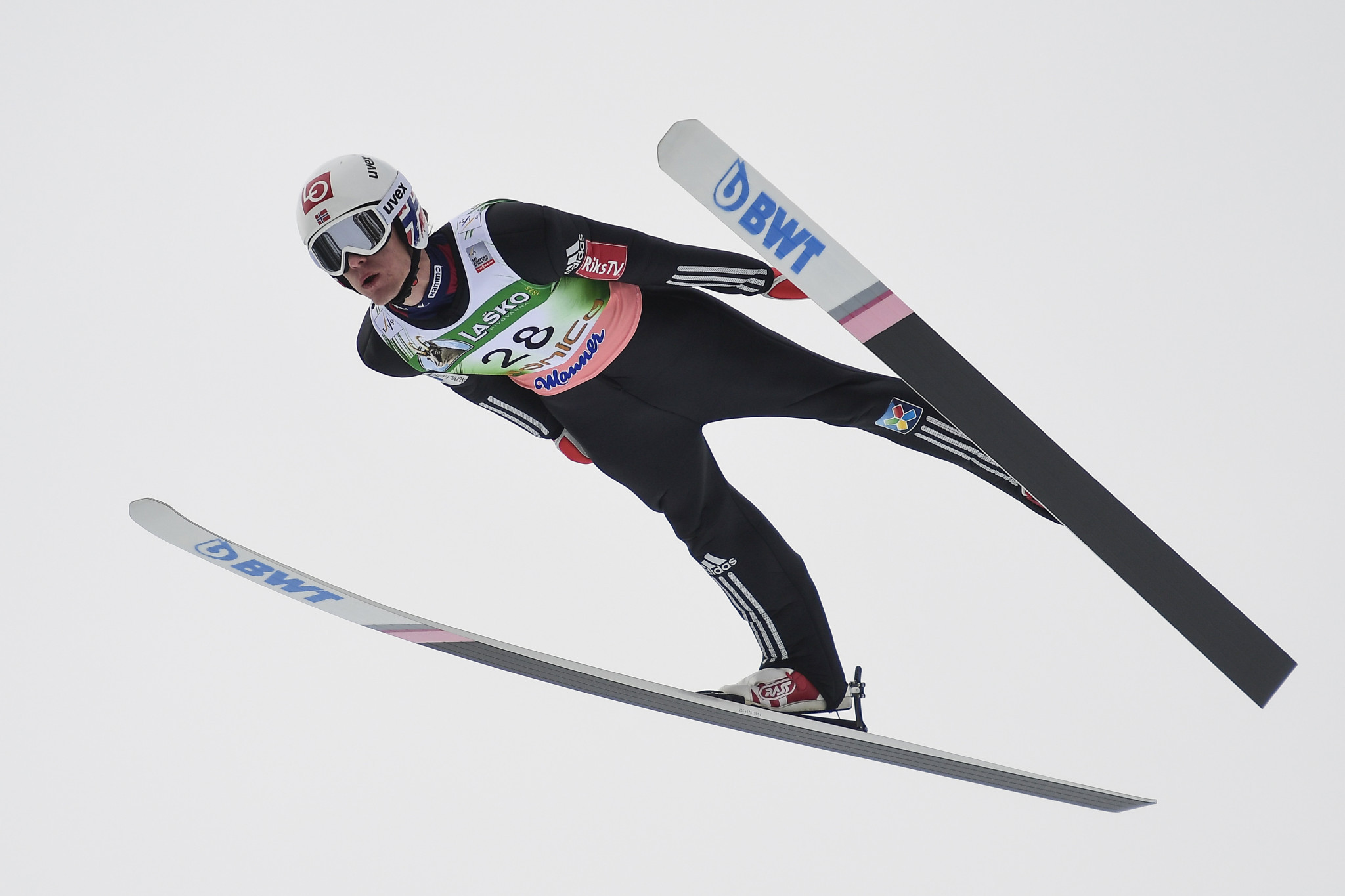 Daniel Andre-Tande is an Olympic champion and the reigning ski flying world champion ©Getty Images