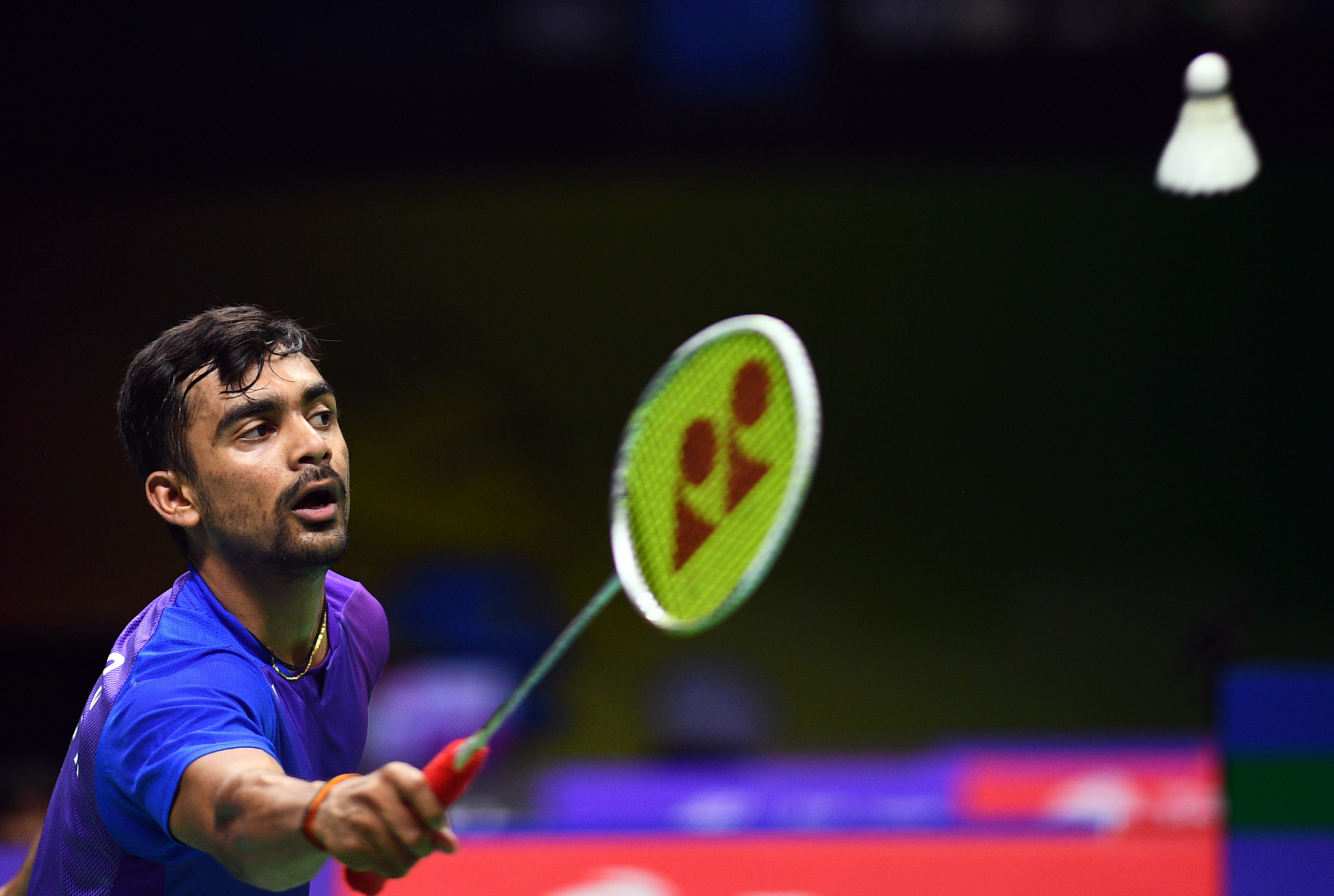 India's Sameer Verna is top seed at the imminent Hyderabad Open on the BWF World Tour ©Getty Images