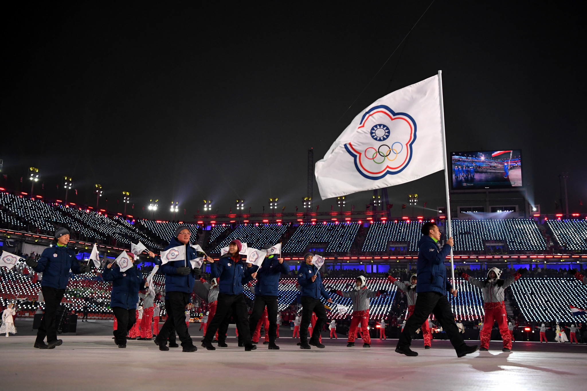 "Taiwanese campaigners have submitted more than 520,000 signatures calling for a referendum on whether their national team should compete as ""Taiwan"" and not ""Chinese Taipei"" at the Tokyo 2020 Olympic Games ©Getty Images"