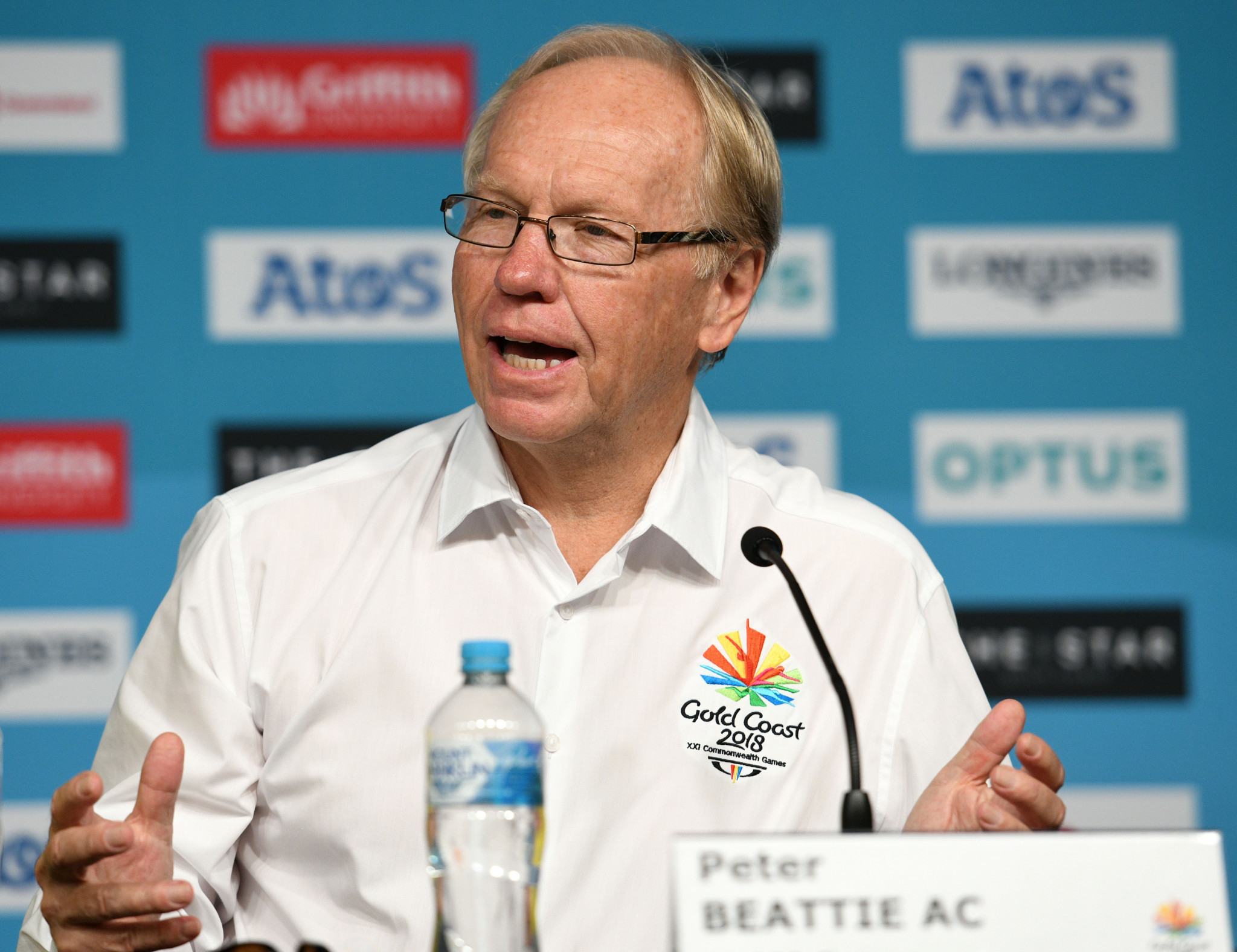Peter Beattie, chairman of GOLDOC, announced the sum after the final Gold Coast 2018 board meeting ©Getty Images