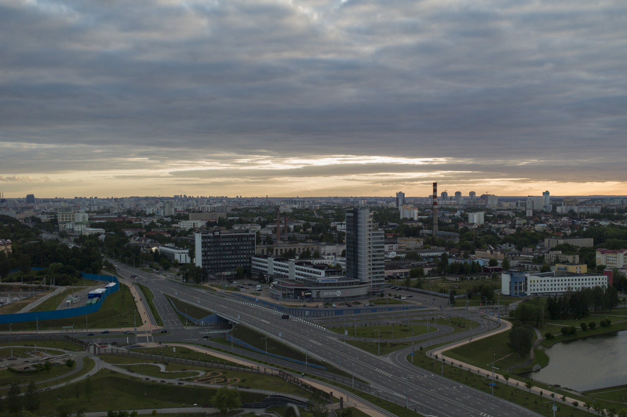Minsk will host the second edition of the European Games ©Minsk 2019