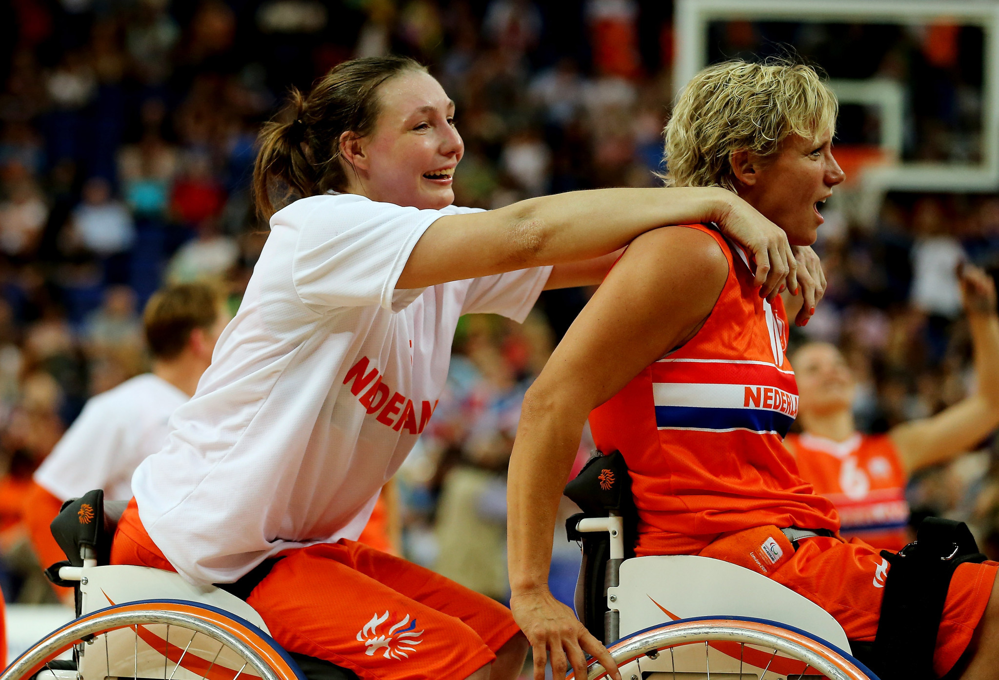 Mariska Beijer is nominated after The Netherlands' historic win in the 2018 Wheelchair Basketball World Championships ©Getty Images