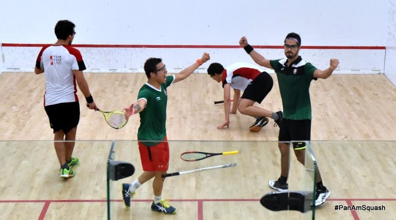 Mexico won the men's doubles events after a 129 minute final ©WSF