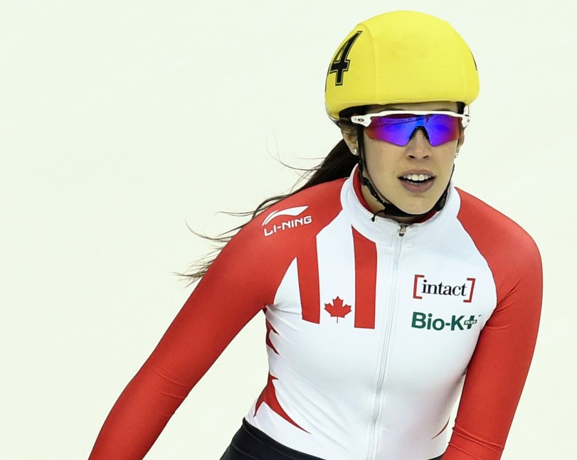 Maltais switches from short track to long track speed skating