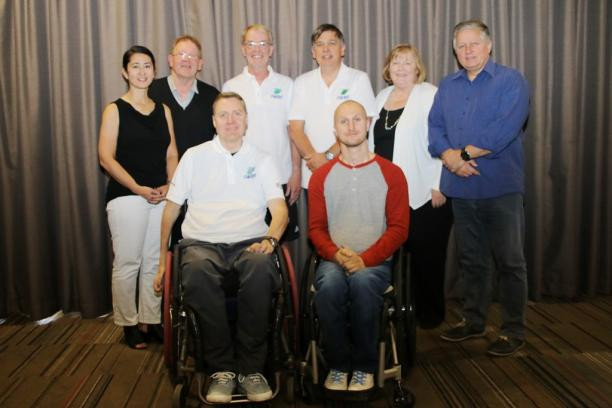 "IWRF President says wheelchair rugby has ""a lot of work to do"" to become financially viable"
