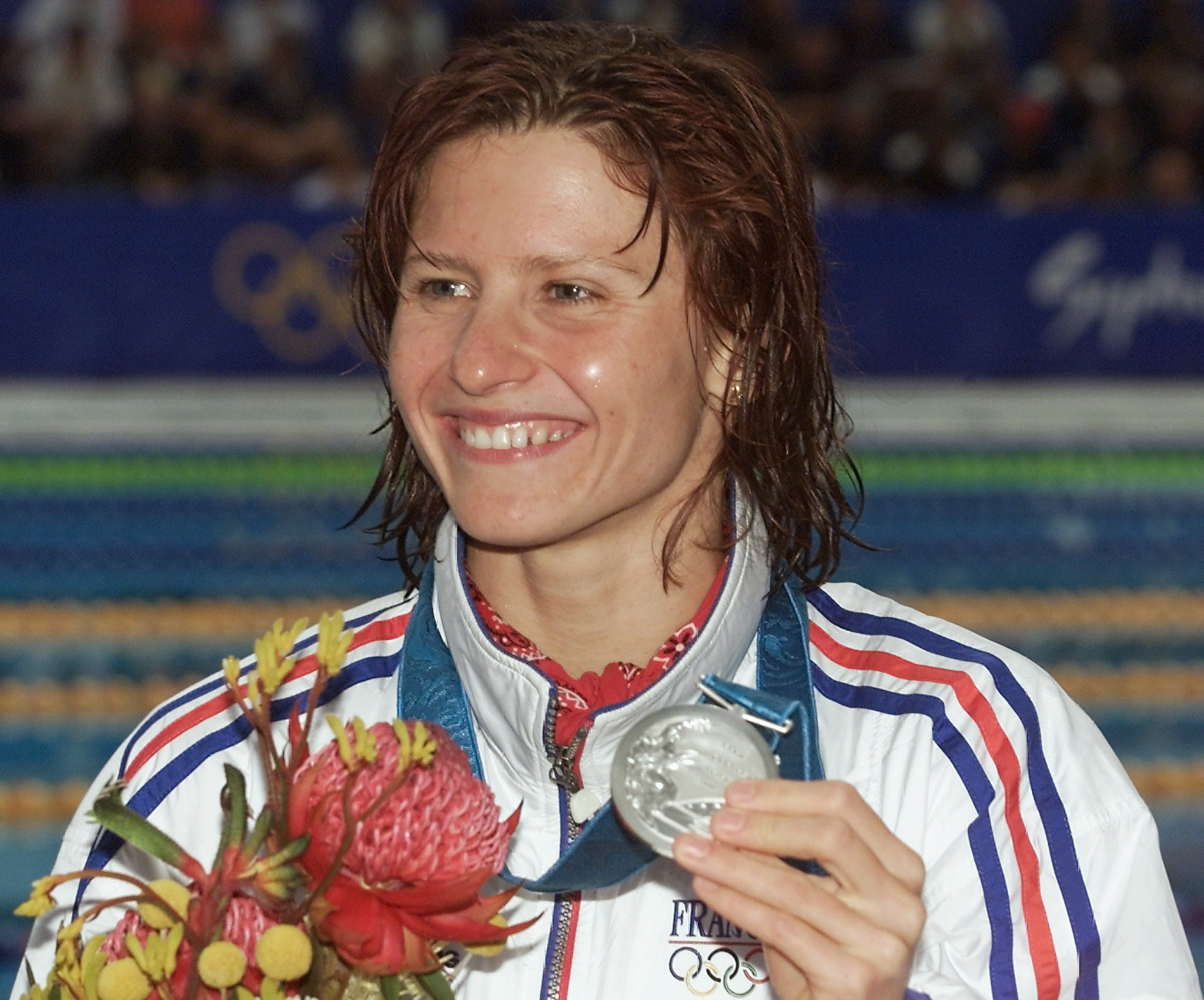 Roxana Maracineanu, who won a silver medal at Sydney 2000, will replace Flessel as French Sports Minister ©Getty Images