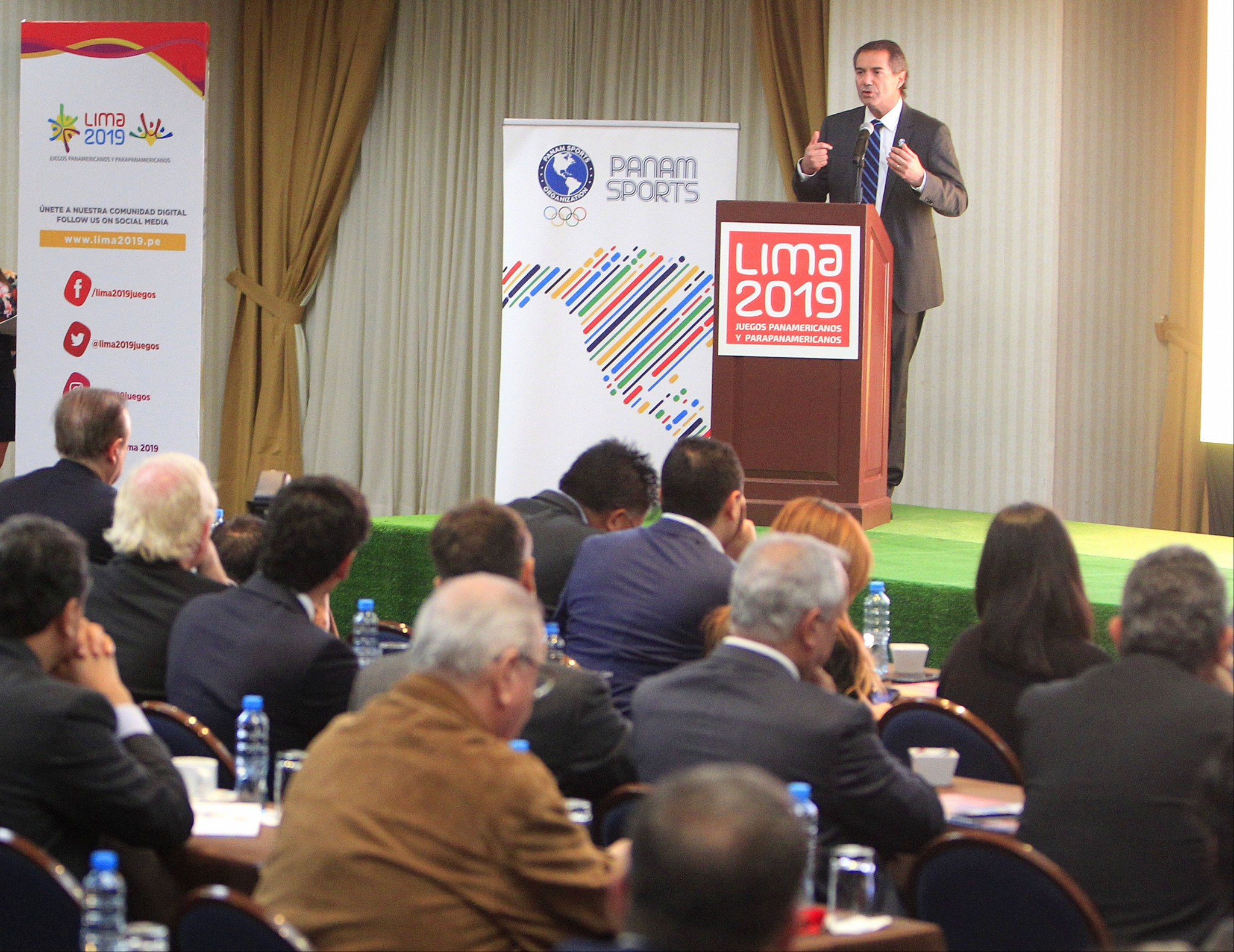 Lima 2019 hold sponsorship summit for companies interested in supporting Pan American Games