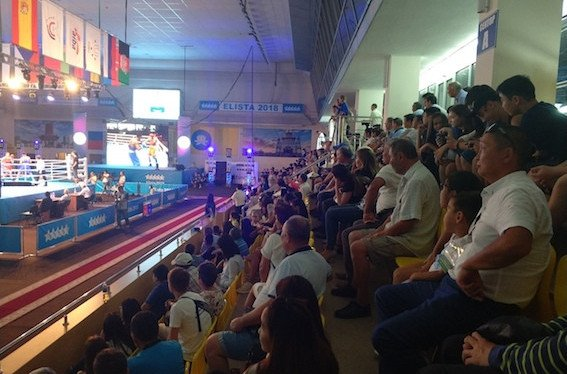 The FISU World University Boxing Championships in Elisa, Russia are proving extremely popular ©FISU