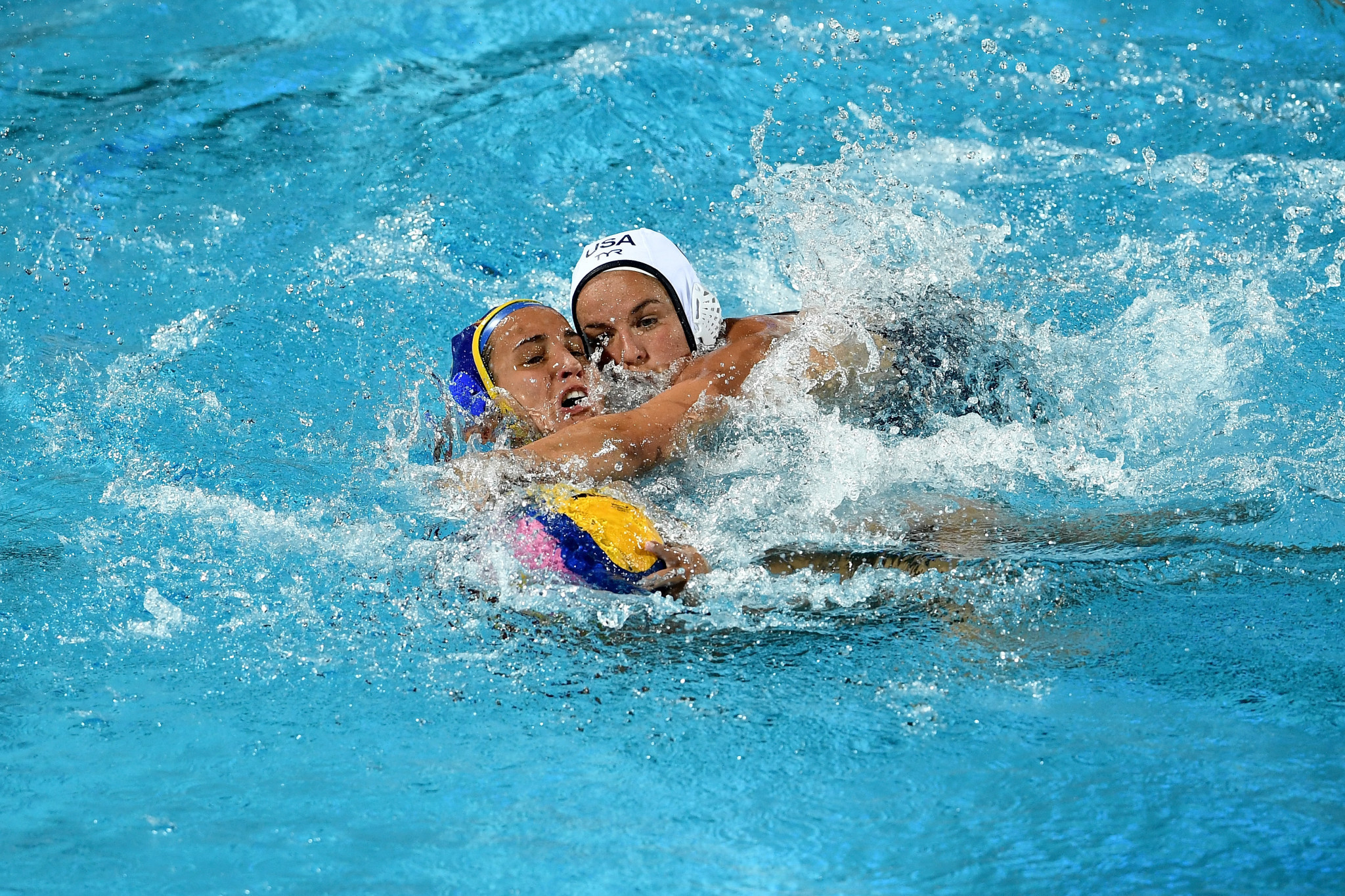 United States thrash New Zealand at Women's Water Polo World Cup