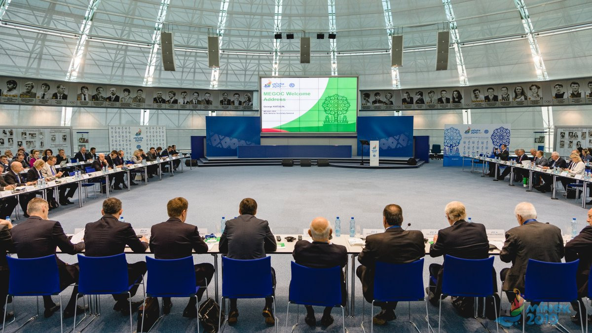 The EOC Coordination Commission urged Minsk 2019 to shift up a gear in its preparations for the European Games ©Minsk 2019