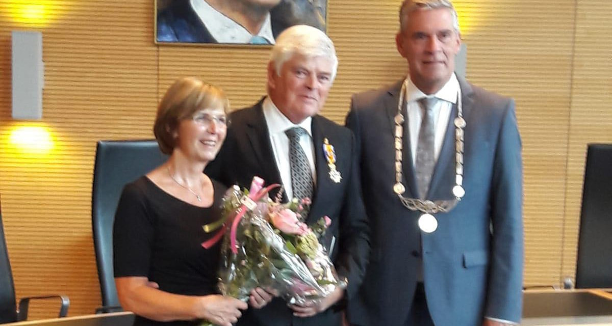Former IWBF Europe President receives major Dutch award for lifetime of service to wheelchair basketball