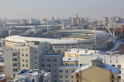 The venue in Minsk has undergone extensive refurbishment ©Belarus Government