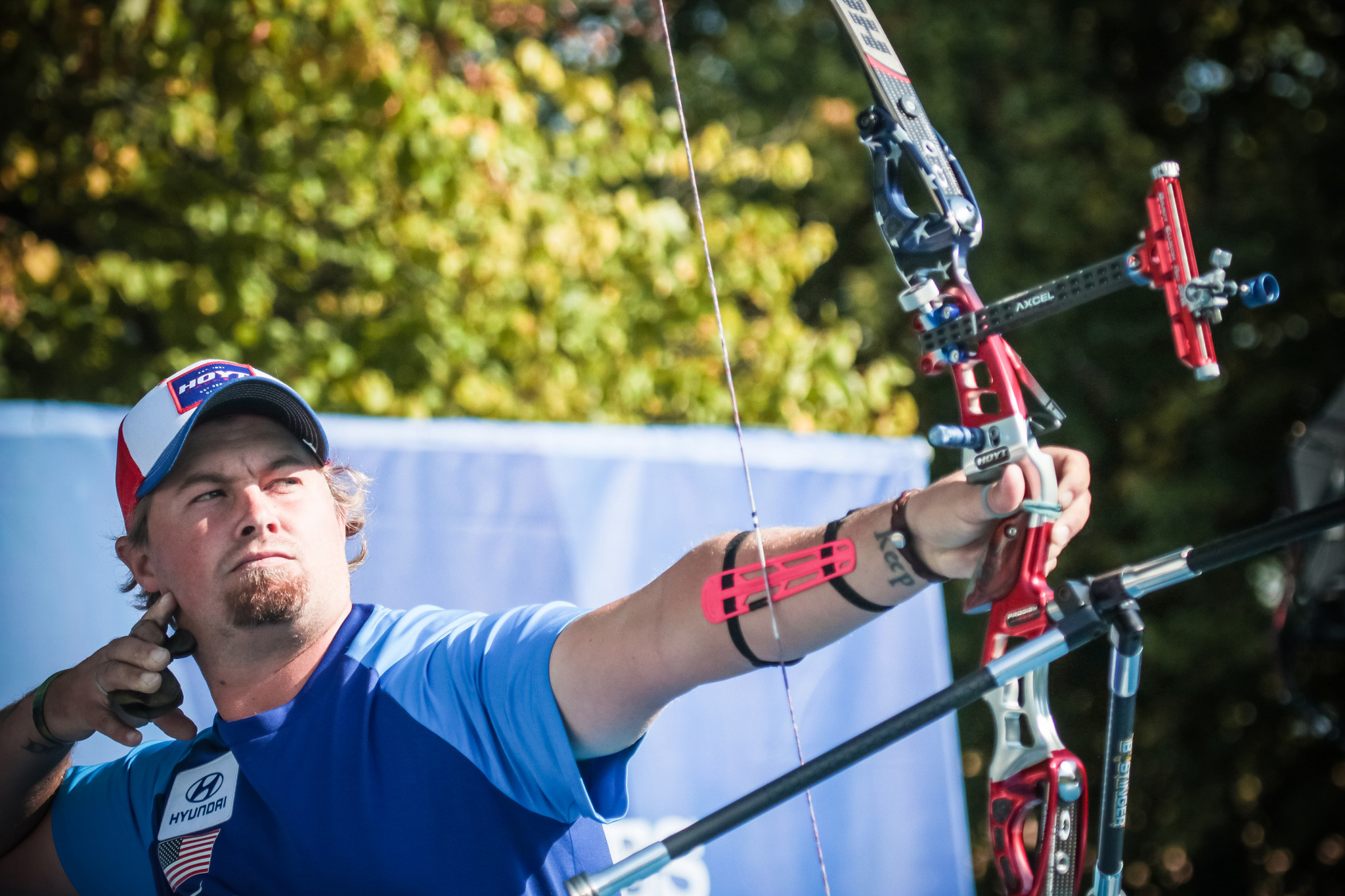 Ellison and Unruh top recurve qualifying at World Archery Field Championships