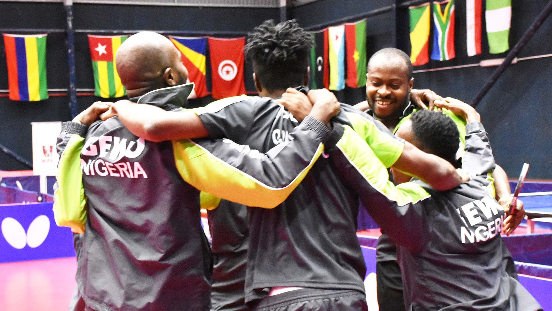 Nigeria and Egypt earn team titles at African Table Tennis Championships in Mauritius
