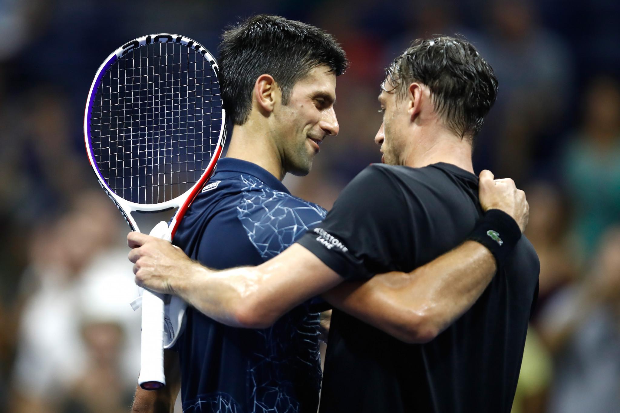 Djokovic and Nishikori set up US Open semi-final