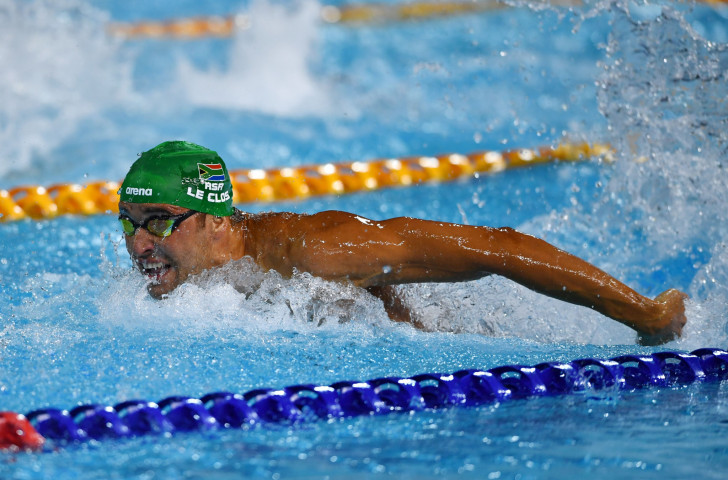 South Africa's Chad Le Clos is due to start the defence of his overall FINA World Cup title in the inaugural meeting that starts in Kazan tomorrow ©Getty Images