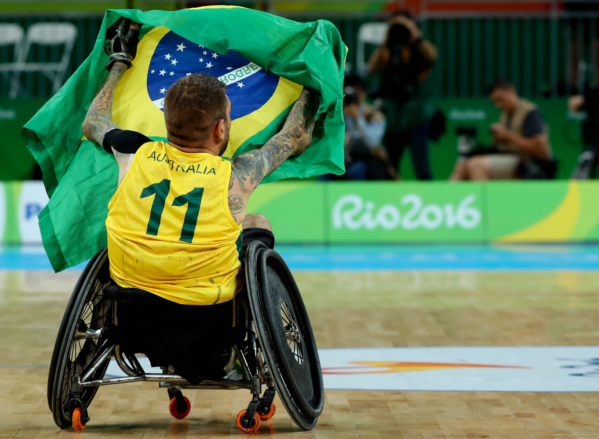 Double Paralympic gold medallist Scott retires from wheelchair rugby