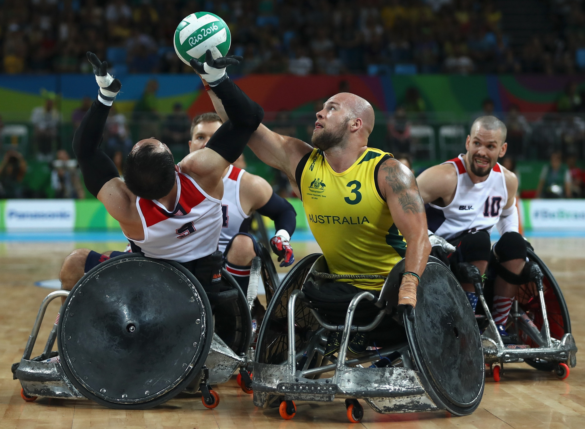 Australia beat the United States to retain their Paralympic title in Rio ©Getty Images