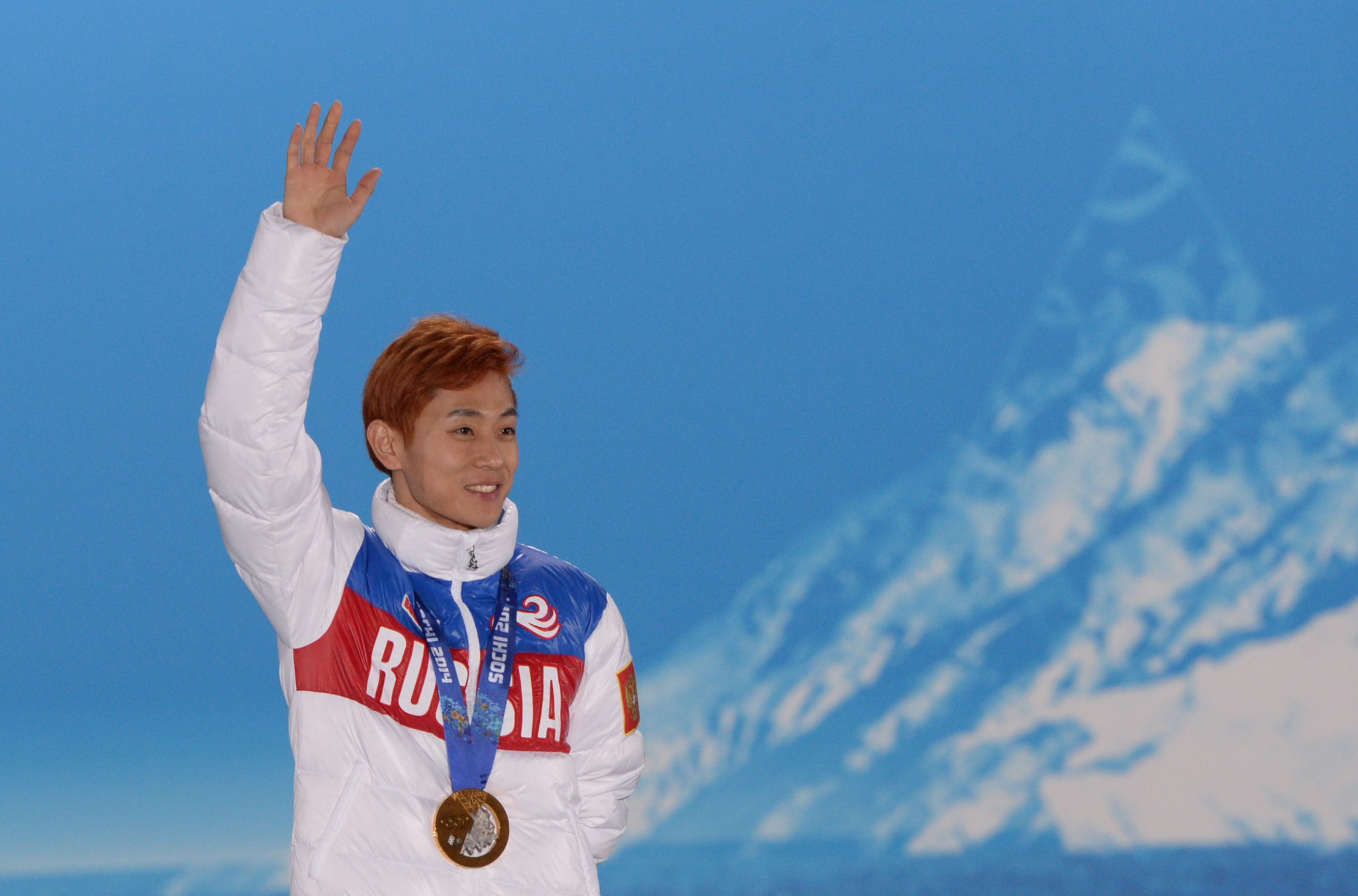 Viktor Ahn won three gold medals and a bronze for Russia at the 2014 Winter Olympics in Sochi ©Getty Images
