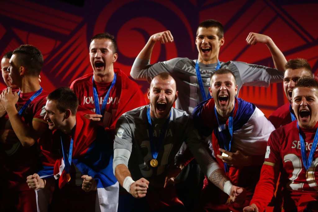 Serbia claimed a surprise 2-1 win over Brazil to win the 2015 FIFA U-20 World Cup in New Zealand earlier this year