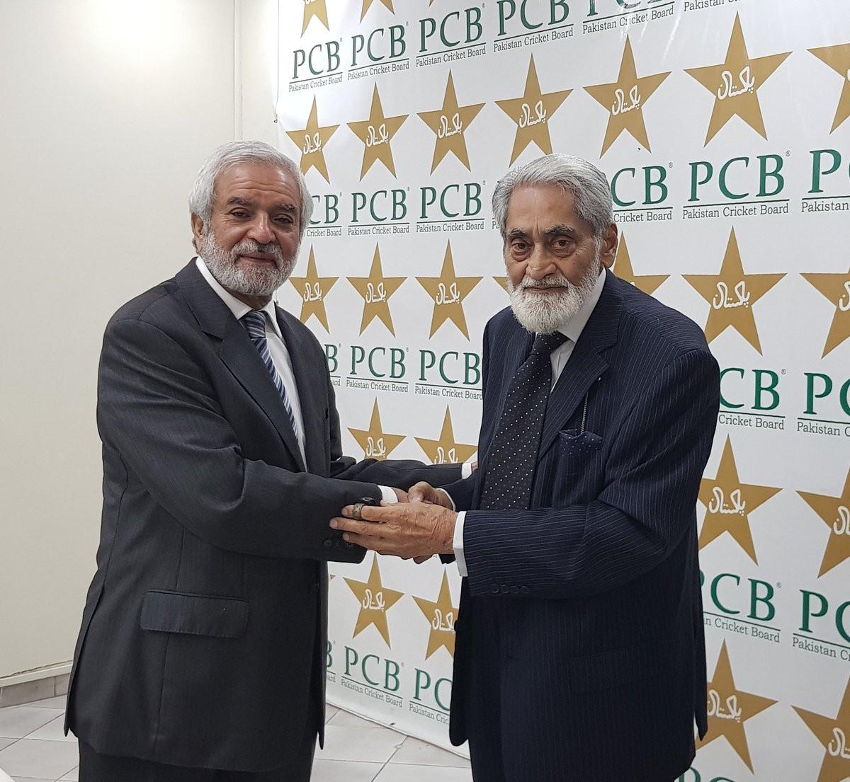 Former ICC head Mani elected chairman of Pakistan Cricket Board