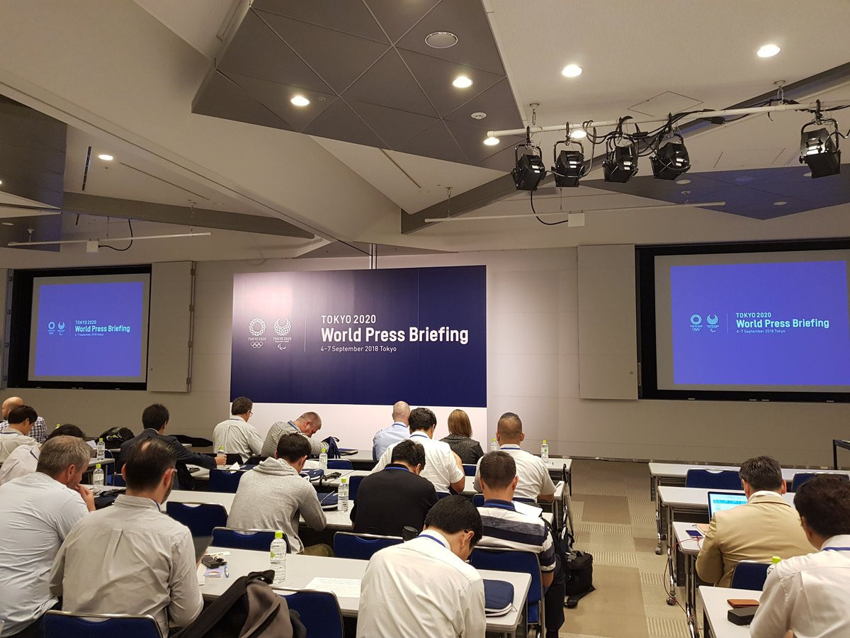 The World Press Briefing was the first of its kind to be held by the Tokyo 2020 Organising Committee ©ITG