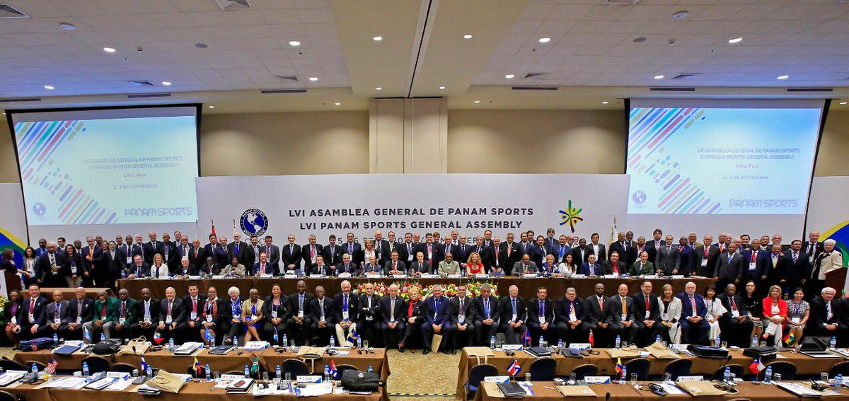 Lima 2019 came under the spotlight on the final day of the Panam Sports General Assembly ©Panam Sports