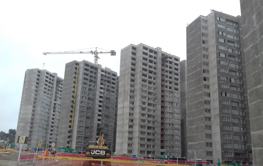 Progress on the Athletes Village construction received praise from organisers ©ITG
