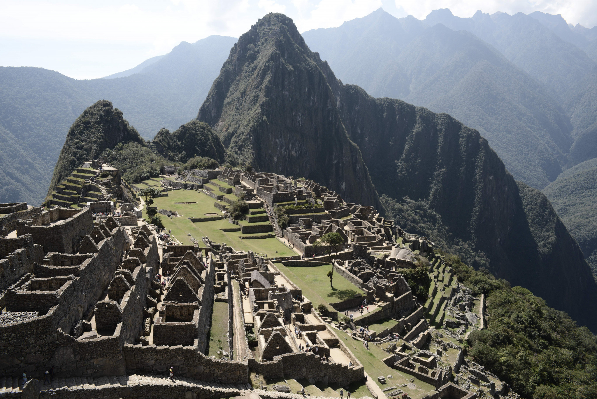 Machu Picchu will be the starting point for Lima 2019's Torch Relay ©Getty Images