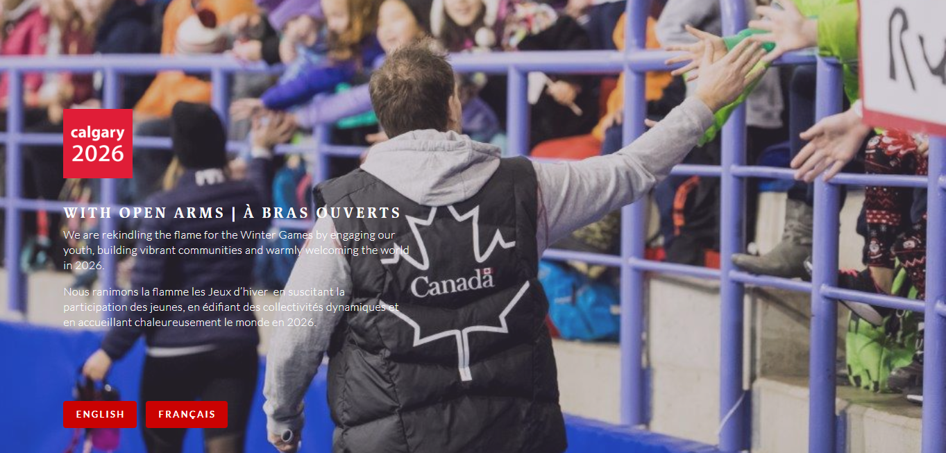 Calgary is one of five potential candidates left in the race for the 2026 Winter Olympic and Paralympic Games, and launched their website last month ©Calgary 2026