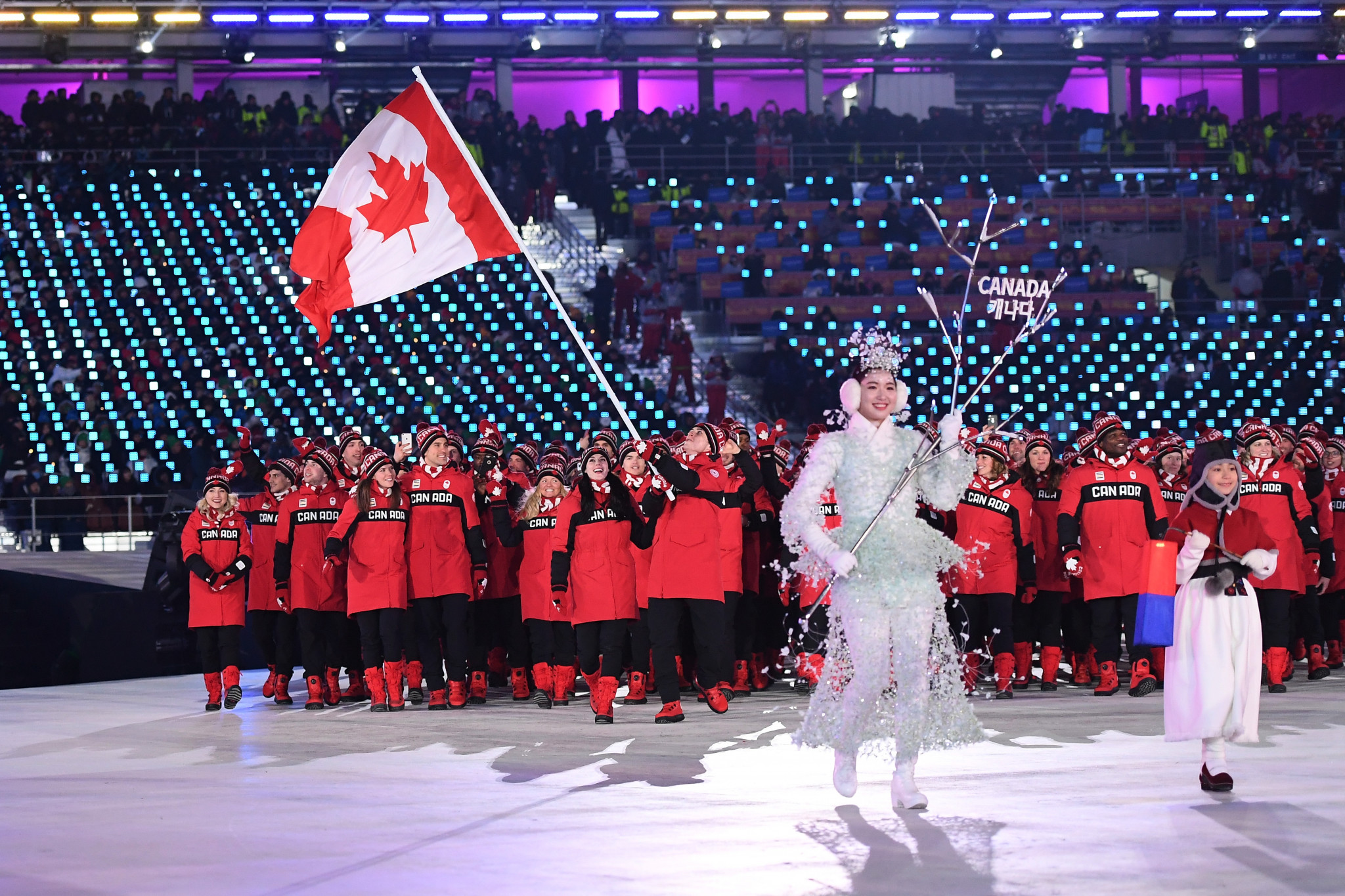Canada achieved its best medal total at a Winter Olympics at Pyeongchang 2018 ©Getty Images