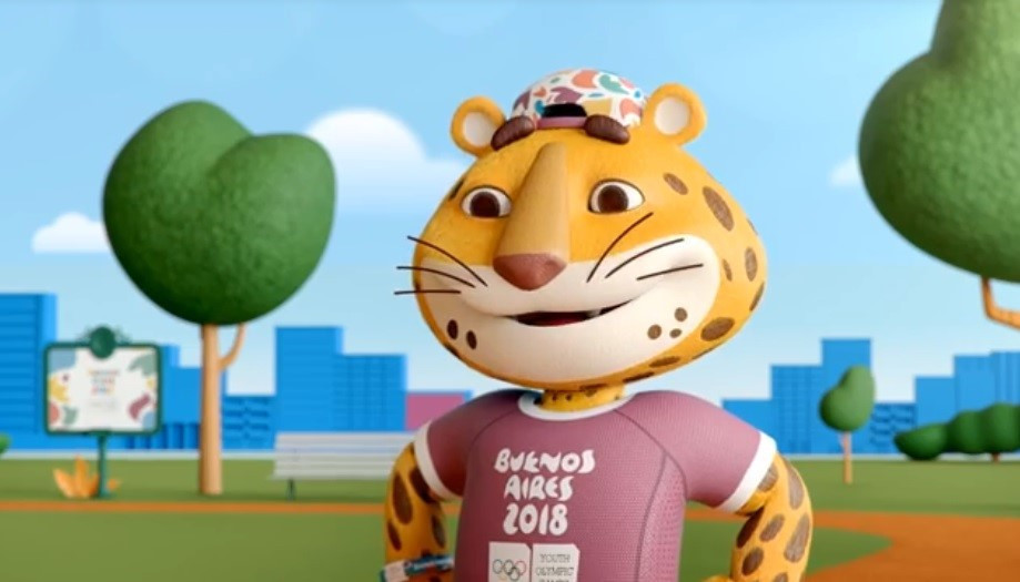 Buenos Aires 2018 has launched a new video in which its mascot #Pandi invites young people to practice sport to improve their quality of life ©Buenos Aires 2018