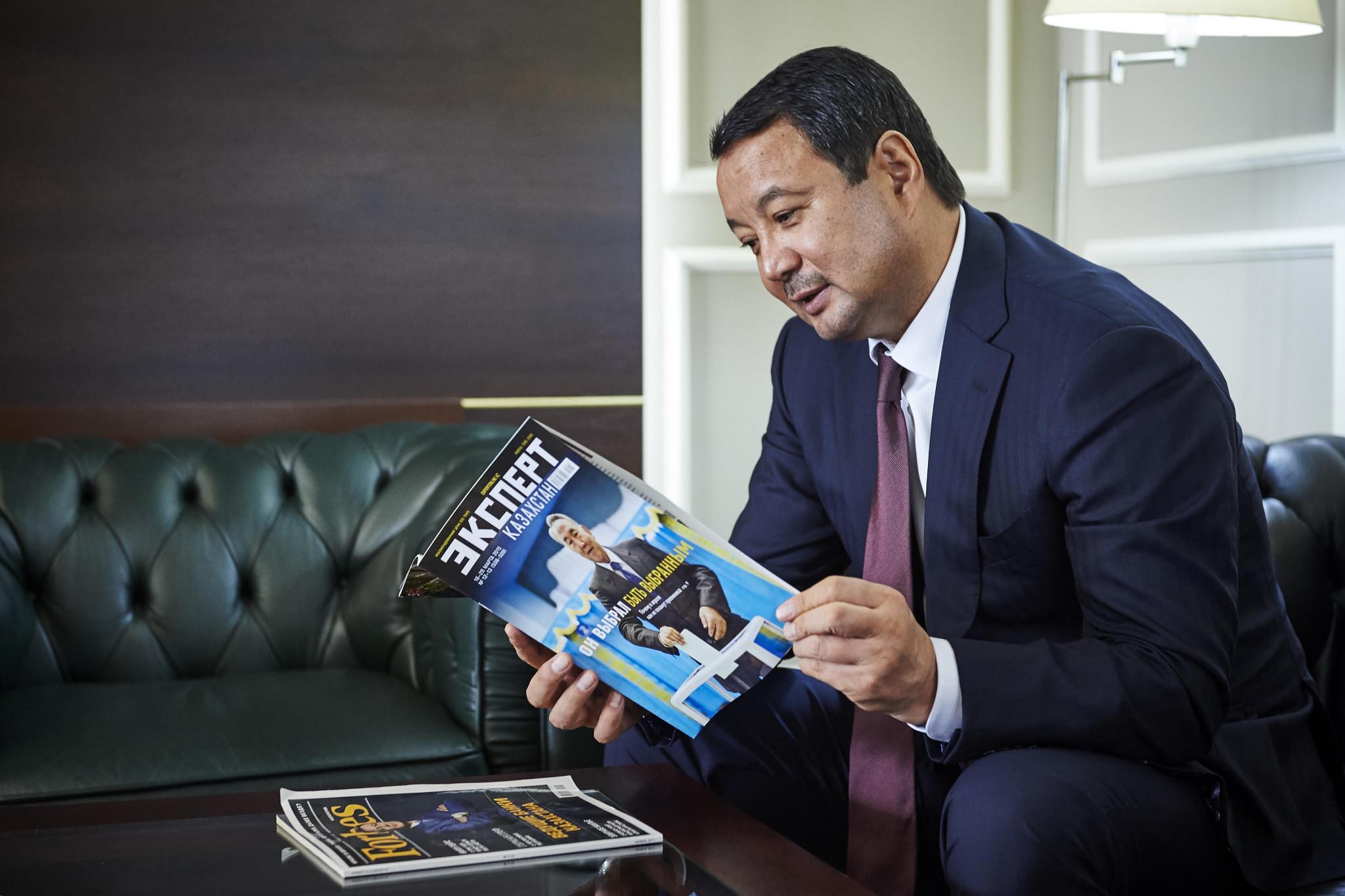 Kazakhstan's Serik Konakbayev has announced his intention to stand for the AIBA Presidency ©ASBC