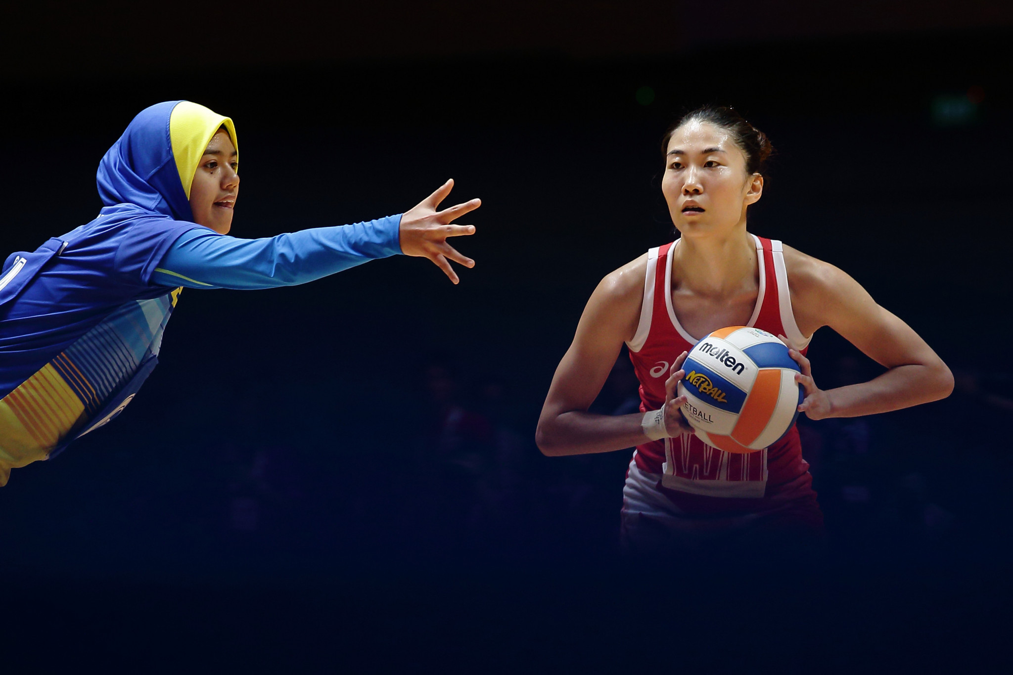 Hosts Singapore stay in the hunt at Netball World Cup Asian qualifier