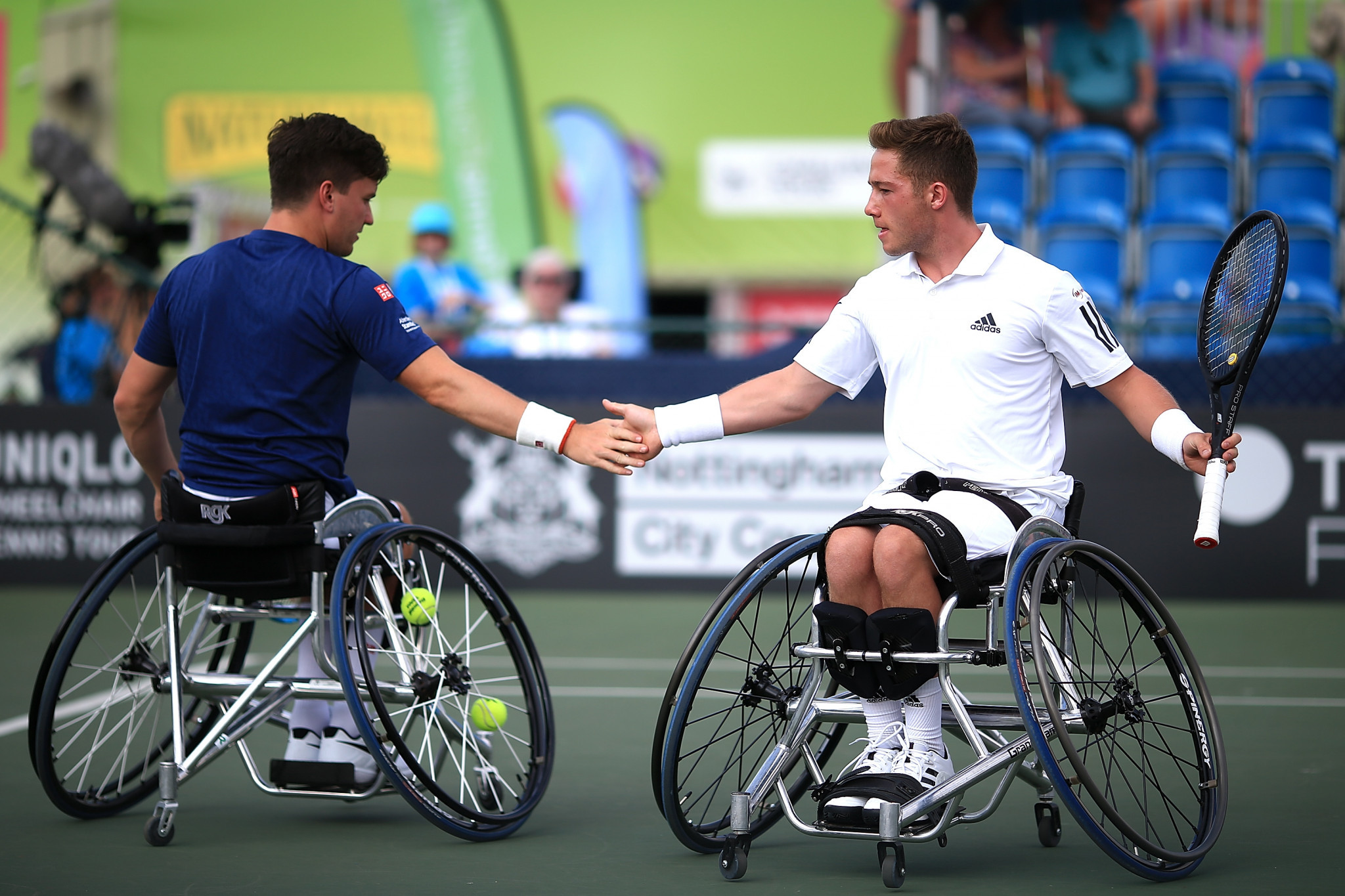 Bad weather puts paid to majority of US Open Wheelchair Tennis schedule on opening day
