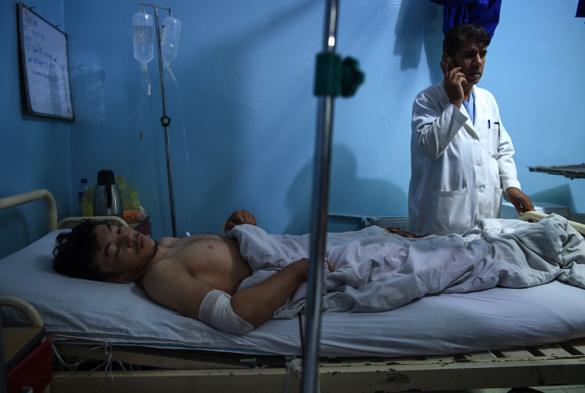 UWW release statement after terrorist attack kills 20 at wrestling tournament in Kabul