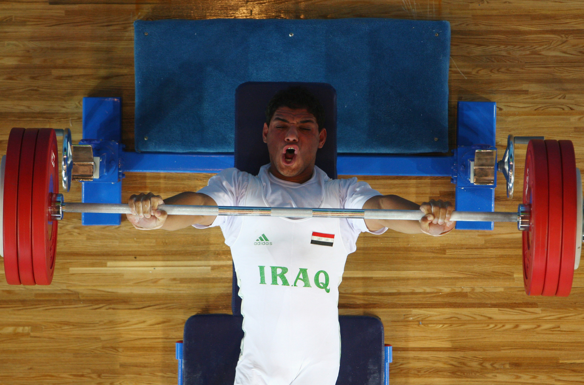 Rasool Mohsin of Iraq is another lifter to watch in men's events ©Getty Images