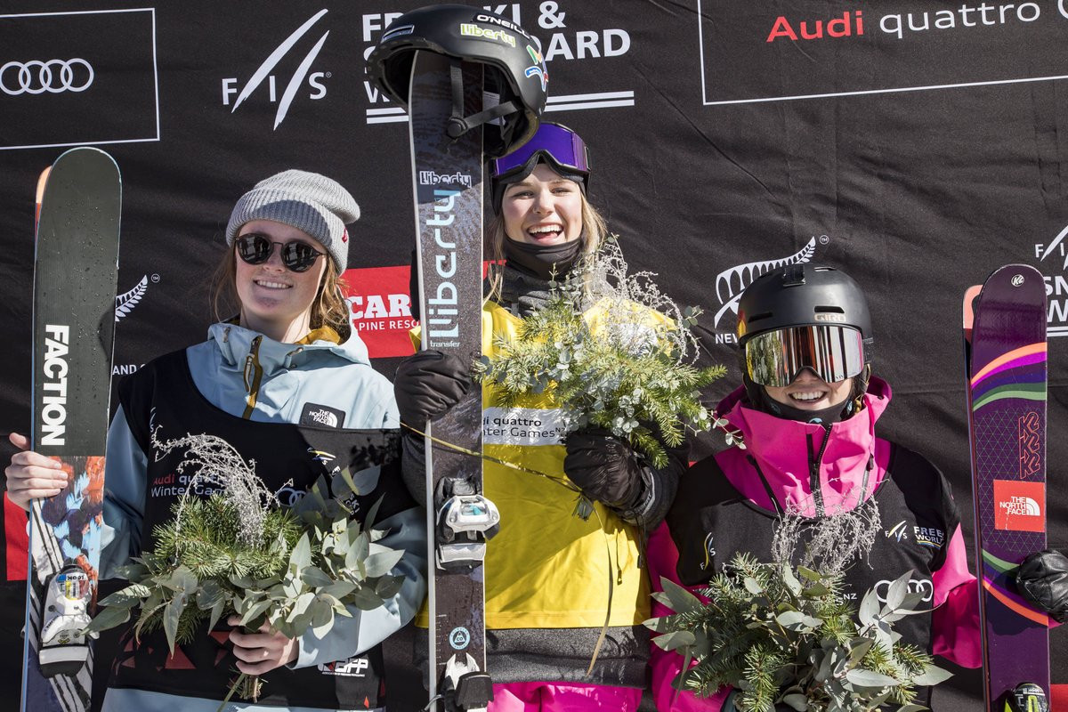 Canada's Gaskell claims first FIS World Cup victory in big air