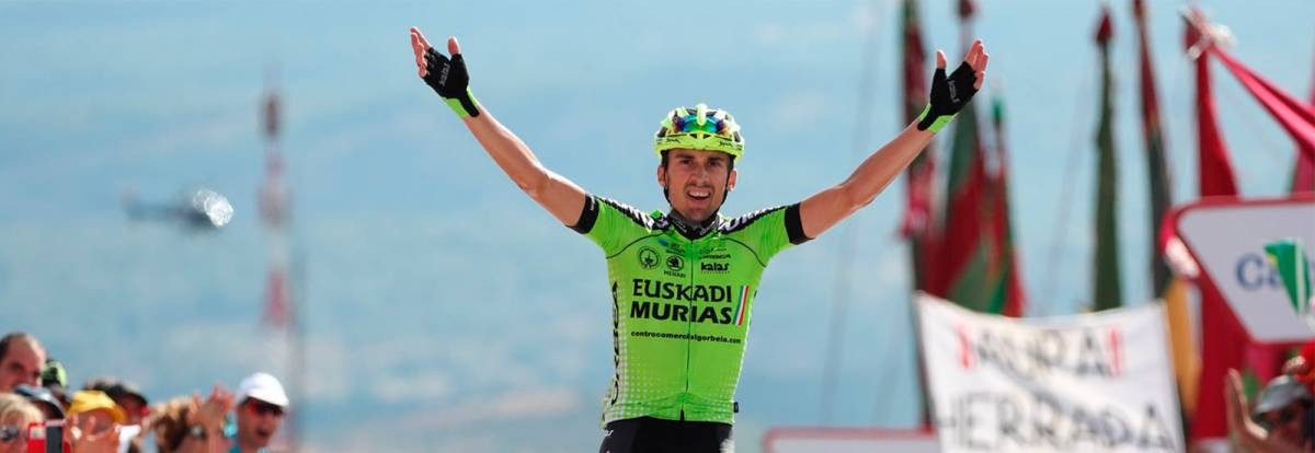 Rodriguez wins historic stage victory at Vuelta as Herrada hangs on to red jersey