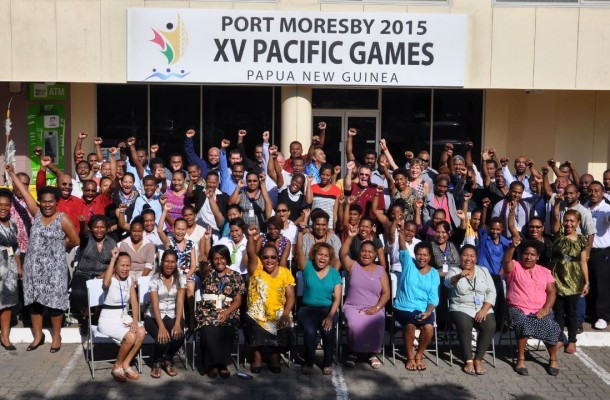 More than 150 staff members are working around the clock to ensure the successful delivery of the Pacific Games ©Port Moresby 2015