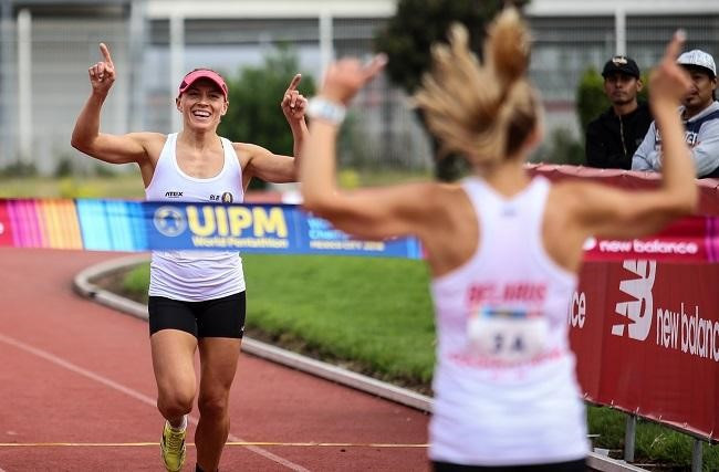 Belarus won the first gold medal of the Modern Pentathlon World Championships in Mexico City ©UIPM